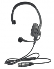 Clear-Com LW Single-Ear Standard HeadSet XLR-5M