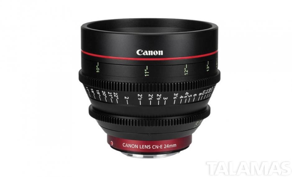 Canon CN-E 24mm T1.5 Cine Prime Lens, EF Mount