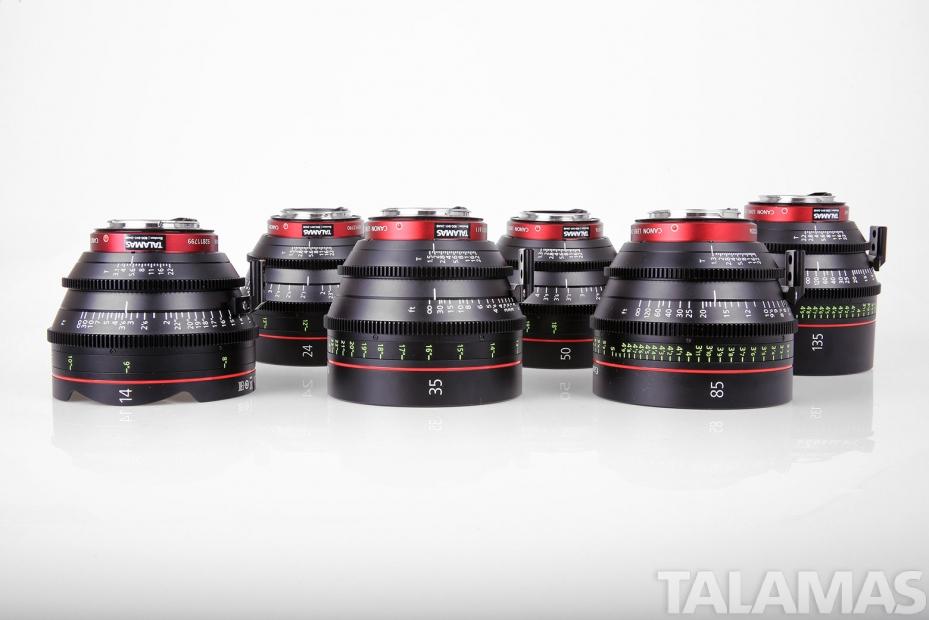 Canon CN-E Cine Prime Lenses