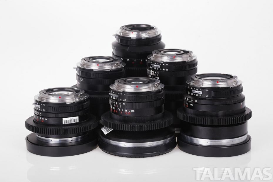 Zeiss ZF Prime Lenses
