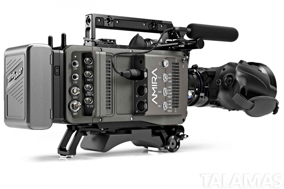 ARRI Amira Premium Digital Cinema Camera right rear view
