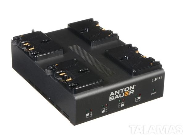 Anton Bauer LP4 Quad Charger