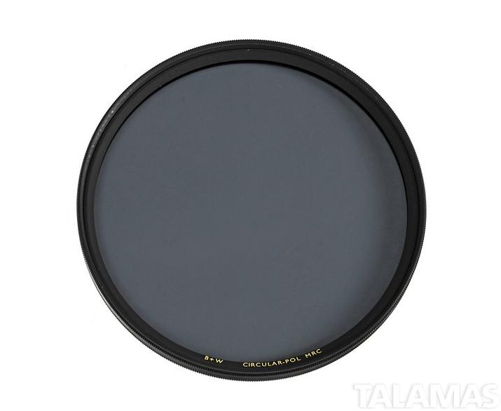 B + W 72mm Circular Polarizer MRC Filter