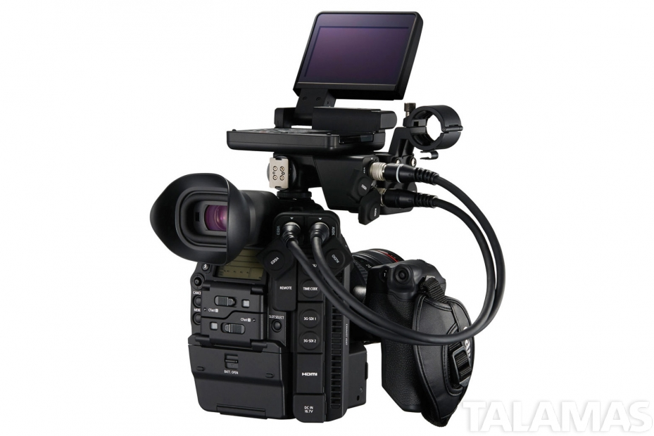 Canon C300 EF Mark II left rear
