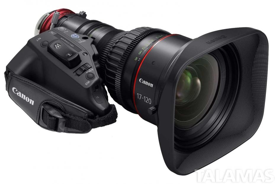 Canon CINE-SERVO 17-120mm T2.95-3.9 PL Zoom Lens