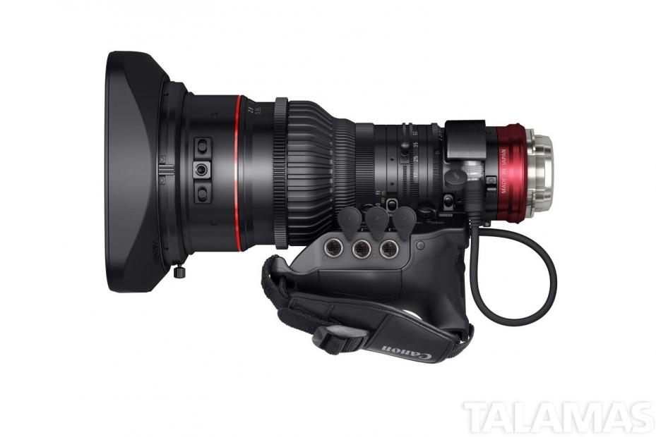 Canon CINE-SERVO 17-120mm top view