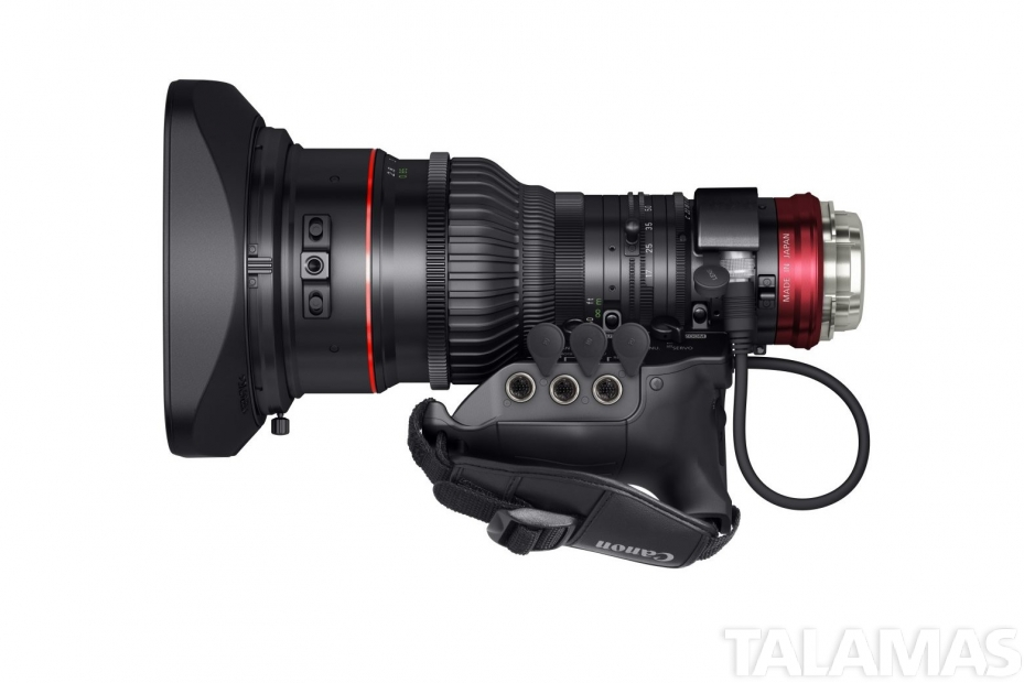 Canon CINE-SERVO 17-120mm top view