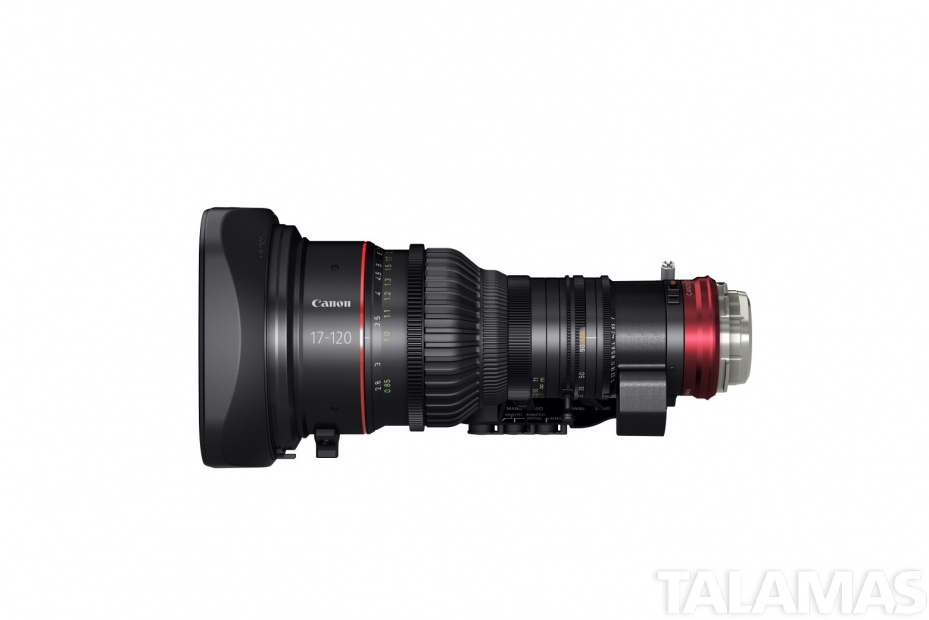 Canon CINE-SERVO 17-120mm left view