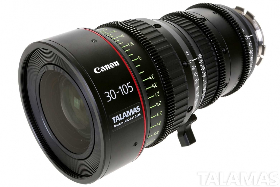 Canon CN-E 30-105mm T2.8 L Cinema Zoom Lens