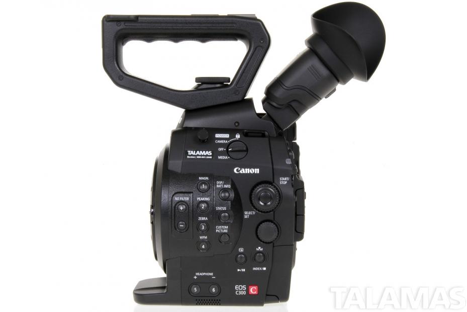 Canon EOS C300 Camera EF Mount