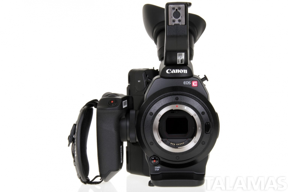 Canon EOS C300 Camera EF Mount front view