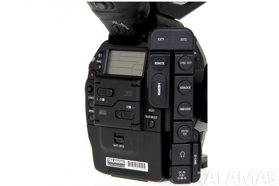 Canon EOS C300 Camera EF Mount rear view
