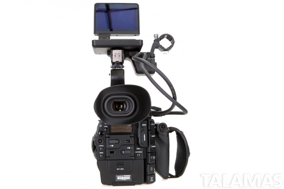 Canon EOS C300 Camera PL Mount rear view