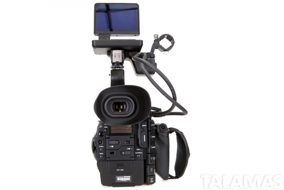 Canon EOS C300 Camera PL Mount rear view