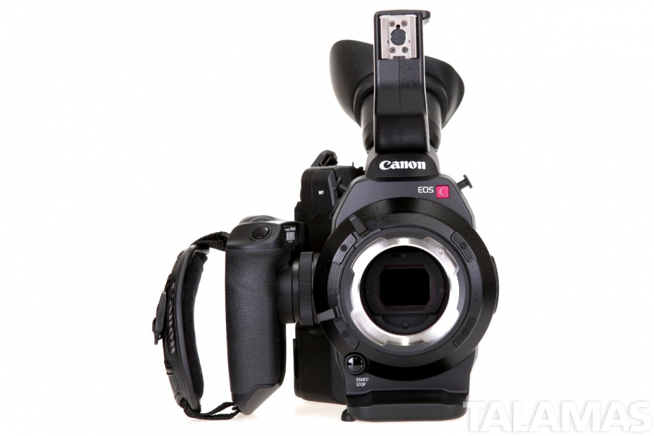 Canon EOS C300 Camera PL Mount front view