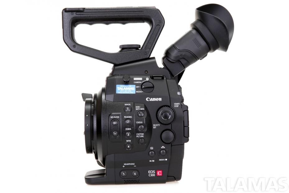 Canon EOS C300 Camera PL Mount