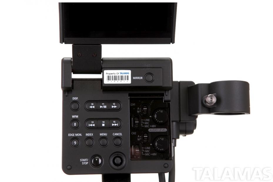 Canon EOS C300 Camera PL Mount button panel