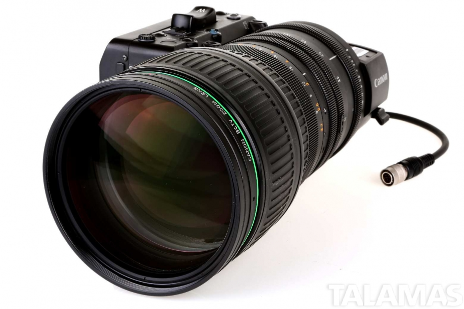 Canon J35ex11B IASD Zoom Lens front view