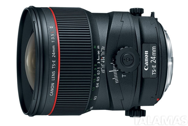 Canon EF 24mm F/3.5 Tilt Shift Lens