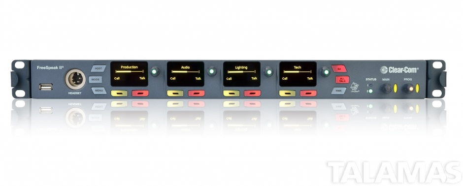 Clear-Com FreeSpeak II 8 Belt Pack System