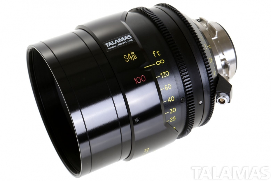 Rent the Cooke S4/i 100mm T2 Prime Lens side view