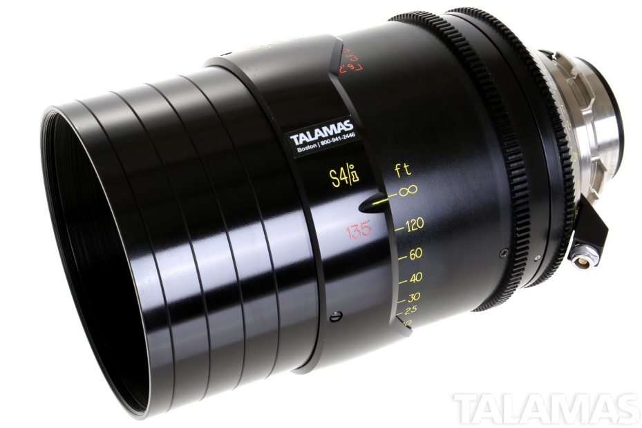 Cooke S4/i 135mm T2 Prime Lens side view
