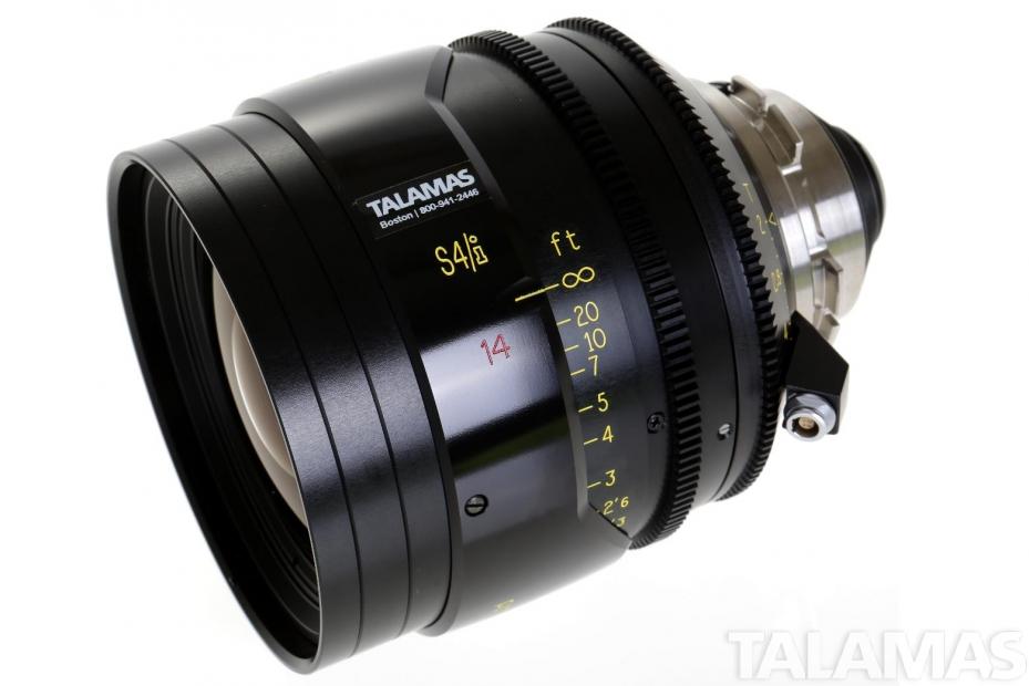 Cooke S4/i 14mm T2 Prime Lens side view