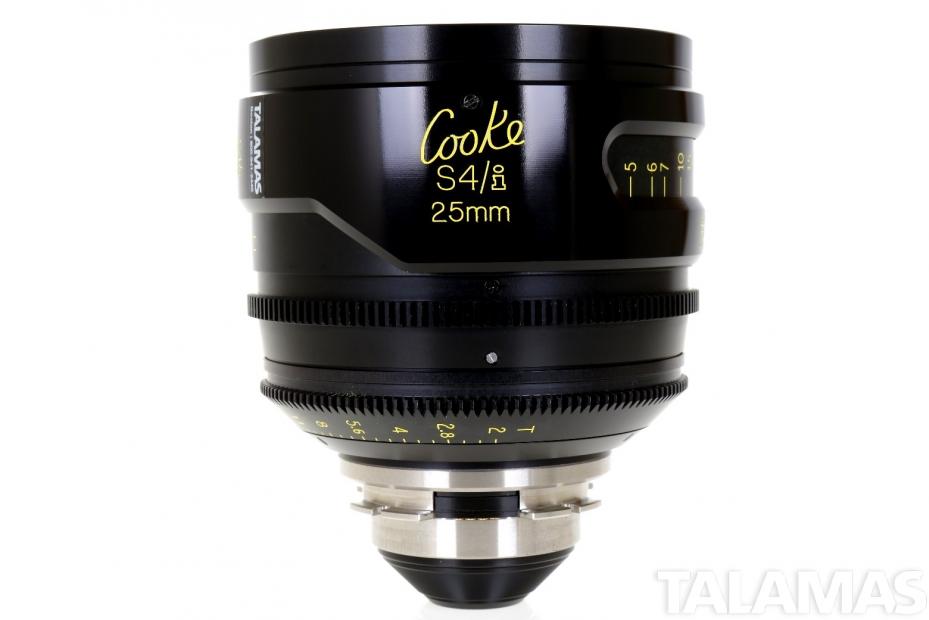 Cooke S4/i 25mm T2 Prime Lens