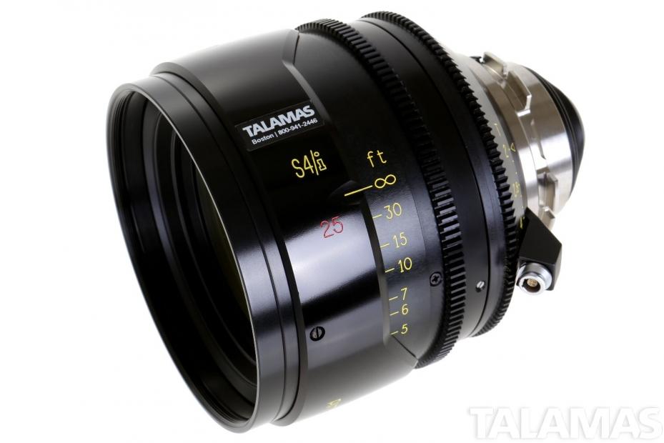 Cooke S4/i 25mm T2 Prime Lens side view