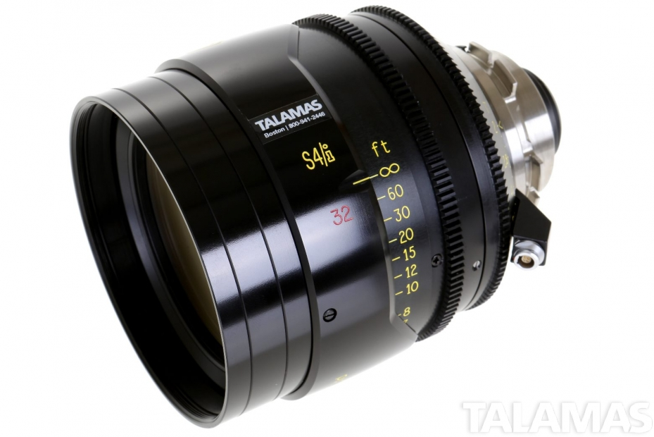 Cooke S4/i 32mm T2 Prime Lens side view