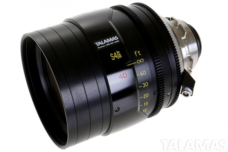 Cooke S4/i 40mm T2 Prime Lens side view