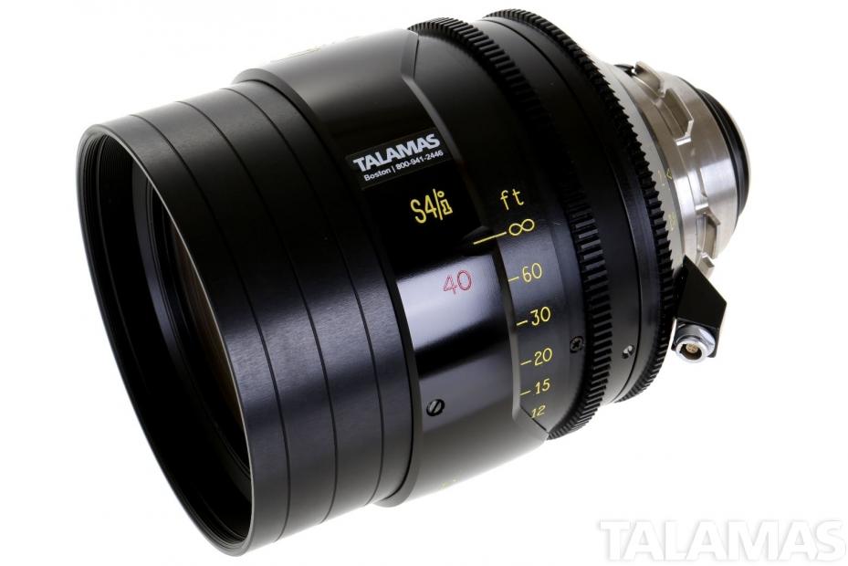 Cooke S4/i 40mm T2 Prime Lens side view
