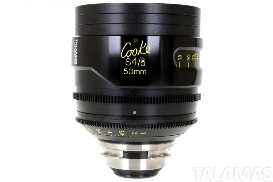 Cooke S4/i 50mm T2 Prime Lens