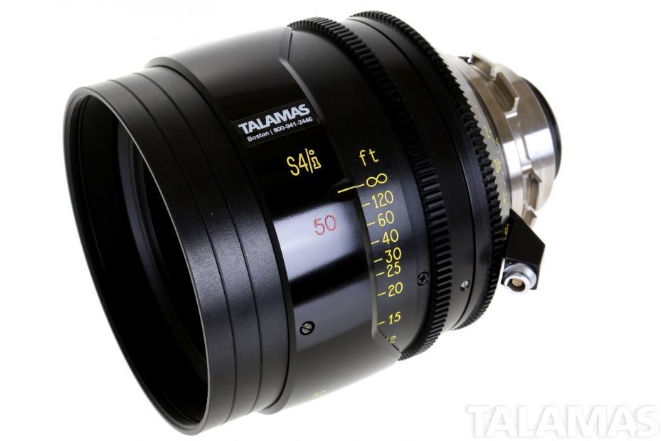 Cooke S4/i 50mm T2 Prime Lens side view