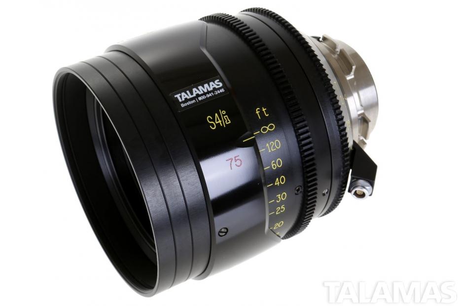 Cooke S4/i 75mm T2 Prime Lens side view