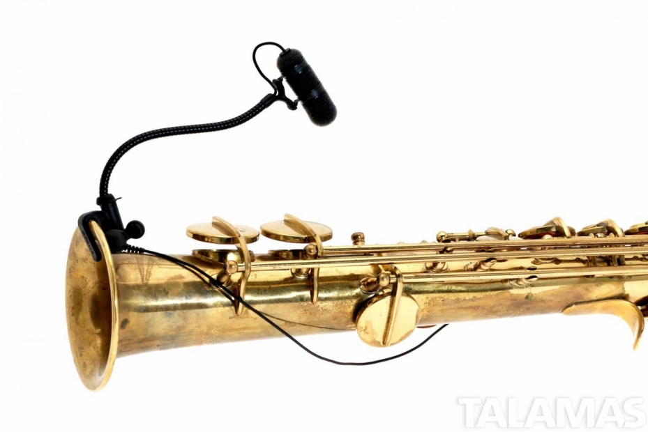 4099S Clip Instrument Microphone for Saxophones and Bass Clarinets