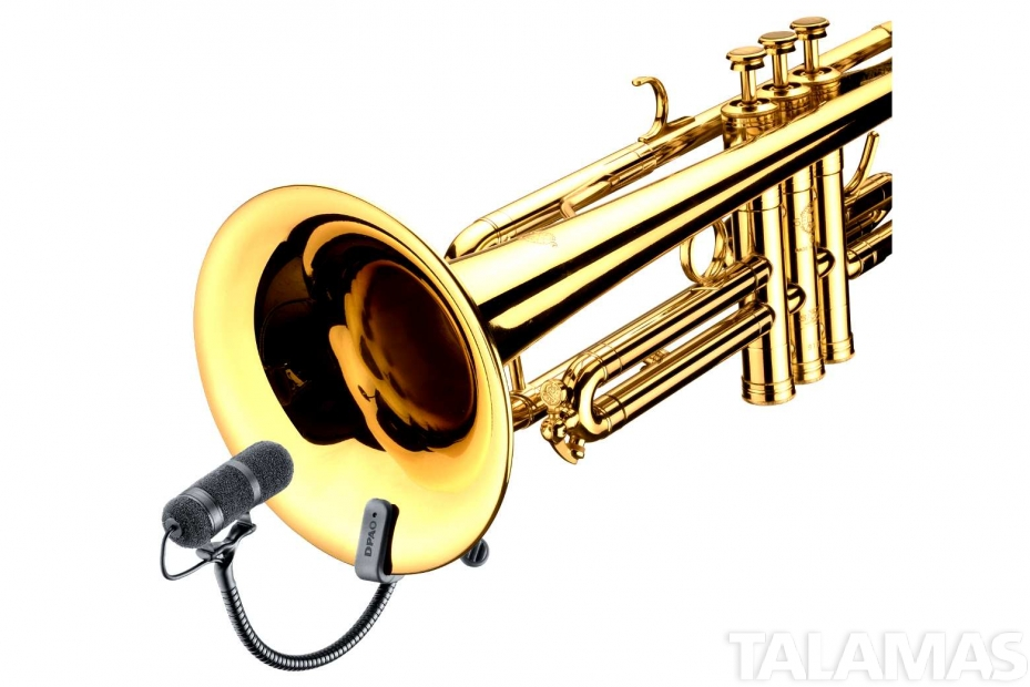 4099T High SPL Clip Instrument Microphone for Trumpet Trombone and other Brass instruments