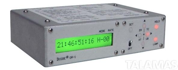 Denecke GR-1 Master Clock Time Code Generator and Reader