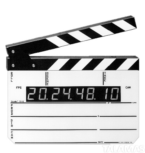 Denecke TS-2 Time Code Slate with LED Display & Built-in Sync Box Time Code Generator