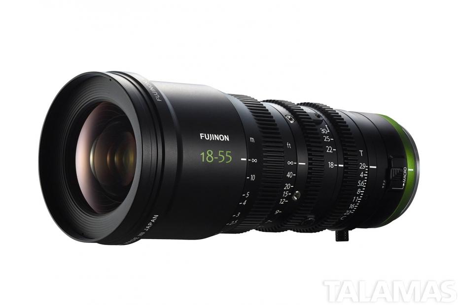 Fujinon MK18-55mm T2.9 Zoom Lens (E-Mount)