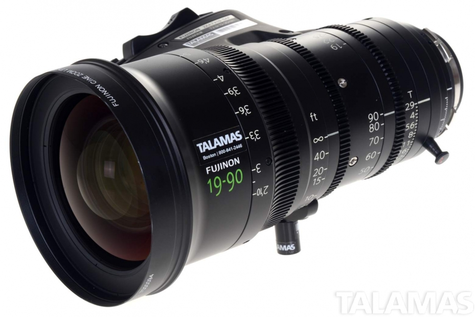 Cabrio 19-90mm T2.9 Zoom Lens side