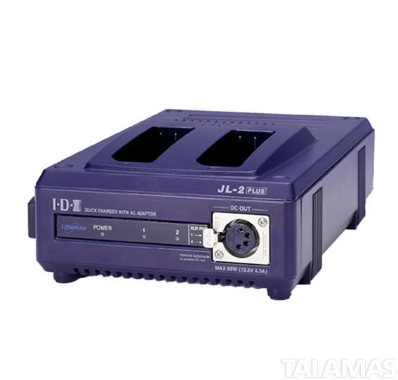 IDX JL2 Plus 2-Up Fast Charger for NP-type Batteries