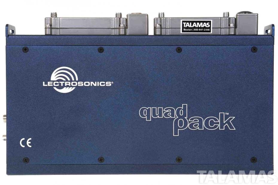 Lectrosonics Quadpack Receiver Dock top view