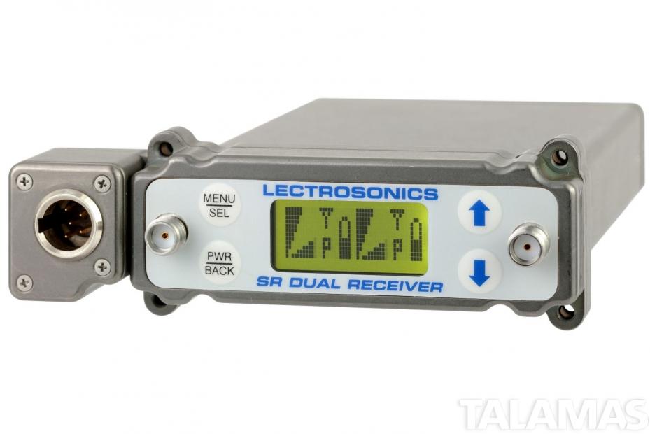 Lectrosonics SRB5P Dual Channel Slot Mount Wireless Receiver