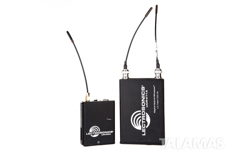 rental lectrosonics ucr411a um400a beltpack wireless microphone system. Black Bedroom Furniture Sets. Home Design Ideas