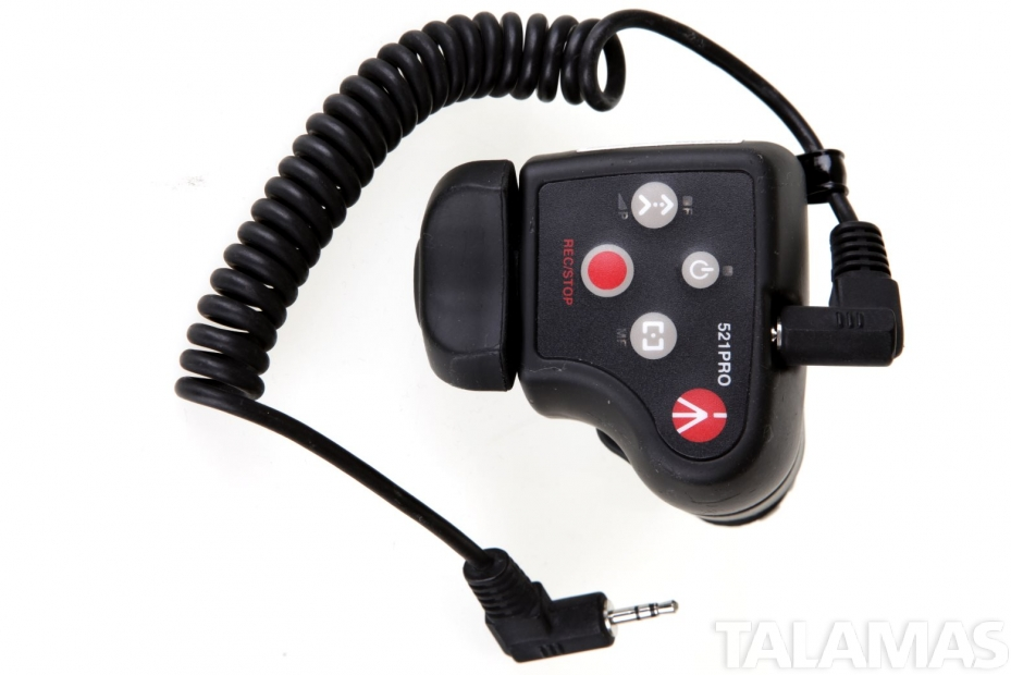 Manfrotto 521PRO Remote Zoom for Sony and Canon Camcorders
