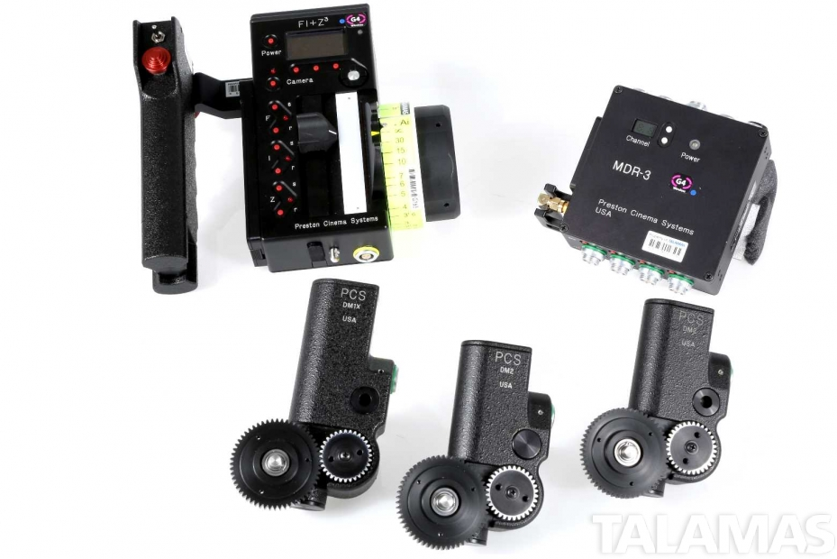 Preston FI+Z3 Lens and Camera Control 3 channel system