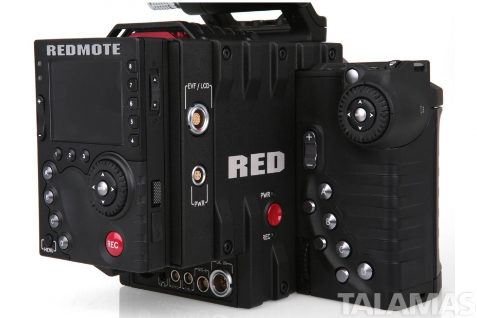 Red Epic Dragon rear view