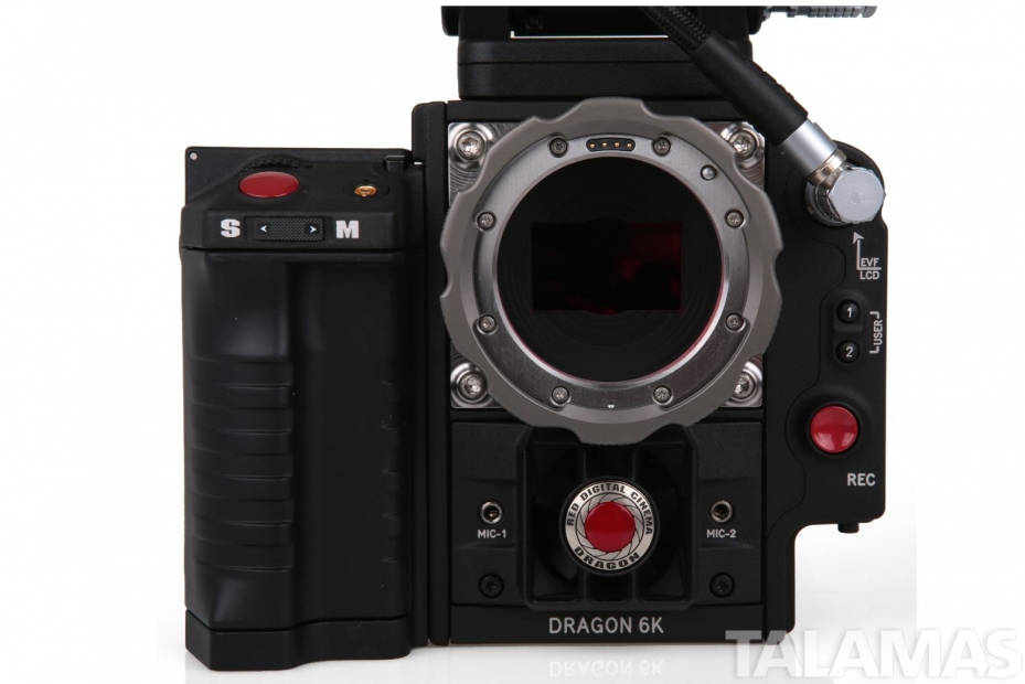 Red Epic Dragon front view