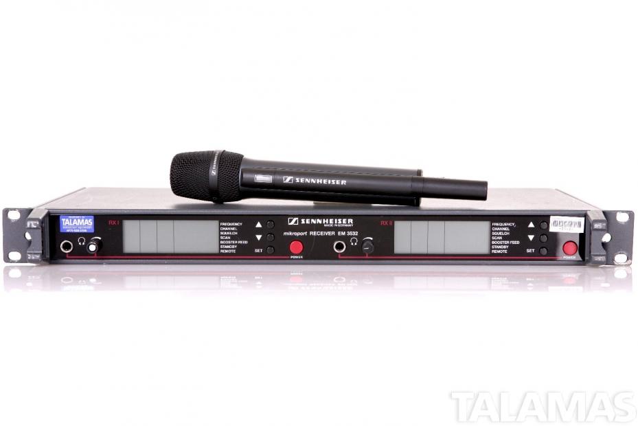 Sennheiser EM3532 SKM5000 Wireless Microphone System with Handheld Transmitter